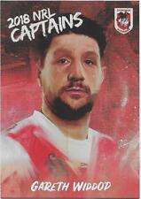 2018 NRL Elite Captains (CC 13) Gareth WIDDOP Dragons
