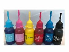 6x30ml Bottle Pigment Ink for Canon Refillable Ink Cartridges
