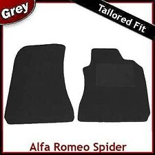Alfa Romeo Spider 916 1995-2006 Tailored Carpet Car Mats GREY