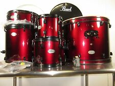 Pearl Soundcheck 5-Piece Drum Set Red Wine w/Black Hardware 22/10/12/16/14""