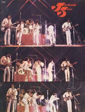 Jackson 5 1972 Tour Concert Program Tour Book MICHAEL JACKSON