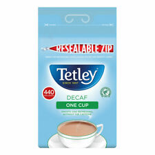 More details for tetley one cup decaffeinated tea bags pack of 440 1800a