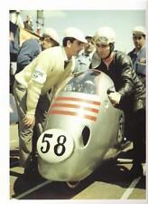 1954 MV Agusta dustbin racer on grid color photo REPRO