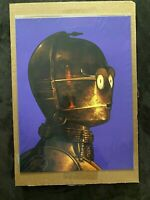 Mondo Star Wars C-3PO Print Poster Mike Mitchell (921/1140)