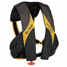 Onyx A/M-24 Deluxe Auto/Manual Inflatable PFD Life Jacket Yellow
