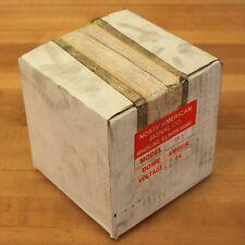 North American Signal Co. TR 3 24 Volt Amber Light. - NEW