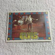1978 Monty Gum - ELVIS PRESLEY - Club Card From Holland - (Blank Back) - Card 41