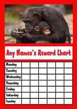 Red Monkeys Star Sticker Reward Chart