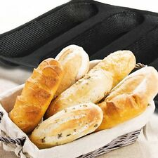 Non-stick Perforated Baguette French Bread Pan Wave Loaf Bakeware Baking Mould
