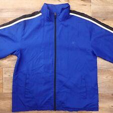 Starter Mens Windbreaker Jacket Nylon Full Zip Lightweight Royal Blue Sz M 38/40