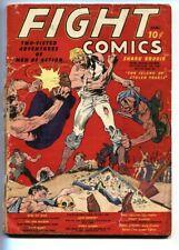 FIGHT COMICS #1-FICTION HOUSE-1940-EISNER-CLASSIC COVER-GOLDEN-AGE