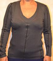 Camiseta de manga larga MARITHÉ FRANCOIS GIRBAUD Talla 40 gris oscuro