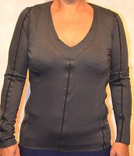 Camiseta de manga larga MARITHÉ FRANCOIS GIRBAUD Talla 38 gris oscuro