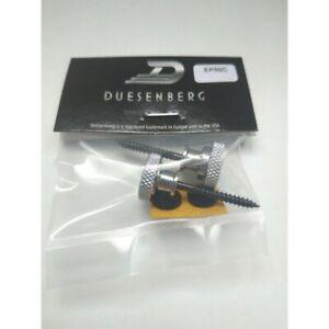 2 Fasteners Belt Duesenberg Chrome Style GRETSCH