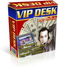 VIP DESK! Your Web-Based Help, Support & Service Desk for Your Site Visitors...