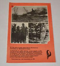 1989 Cuban Original Poster.History propaganda Communist.Bay of Pigs history art