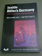 Inside Hitler's Germany : A Documentary History of Life in the Third Reich by...