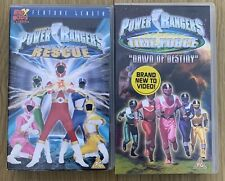 Children's VHS Bundle - Power Rangers