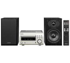 Denon DM41DAB Micro DAB CD FM System Silver DM-41DAB inc SCM41 Speakers