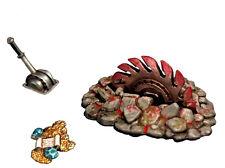 Aurora Model Game miniatures Accessories Circular saw Trap 1/48 Metal kit KT-023