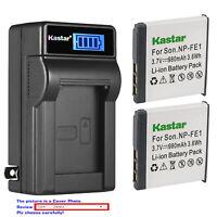 Kastar Battery Charger for Sony NP-FE1 Sony Cyber-shot DSC-T7 DSC-T7/B DSC-T7/S