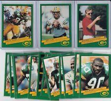 1992 Green Bay Packers Police Team Set Favre Sharpe Holmgren Wolf Butler