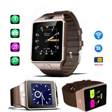 Neu Android 4.4 Bluetooth Smart Uhr SIM Smartwatch Telefon Mit Kamera 3G Wi-Fi