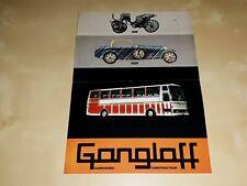 Gangloff Carrossier leaflet/brochure/folder