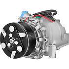 A/C AC Compressor w/ Clutch for Honda Civic 1.8L 2006 2007 2008 2009 2010 2011