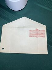 1898 HAWAII 2 cent Rose Color Provisional Government Overprint Envelope UNUSED