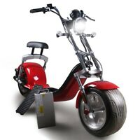 Neuf Scooter Électrique Electric Citycoco 1200W 20AH Eec /
