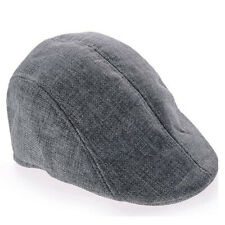Boys Flat Cap Beret Cabbie Hat Country Peaky Newsboy Golf Driving Hat Caps N2CX