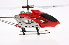 New Syma Red S107G Metal 3Ch gyro Gyroscope RC Remote Control Mini Helicopter