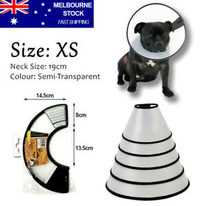 Pet Dog Cat Protective Collar Wound Healing Medical Cone Bite-Proof Protect E
