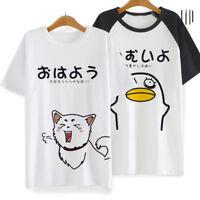 Gintama Silver Soul T shirt Anime Sadaharu Elizabeth Acting Cute Pattern T-shirt