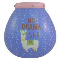 Llama No Drama Fund Pots of Dreams Money Pot Save Up & Smash Money Box Gift