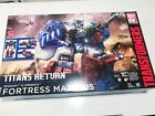 Transformers Titans Return Fortress Maximus - New In Box