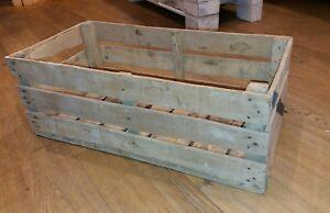 SET 6 Cassette legno frutta vintage anni 60 grandi 70x35x25 peso 4.5 kg cerate