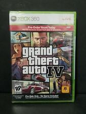 Grand Theft Auto IV Promo Pre-Order Edition Xbox 360 Pre Sale Only No Game New