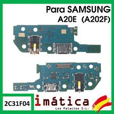 PLACA DE CARGA PARA SAMSUNG GALAXY A20E USB MICROFONO CONECTOR JACK AUDIO A202F