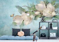 3D Schmetterling Blume ZHUC443 Tapete Wandbild Fototapete Abnehmbarer Amy