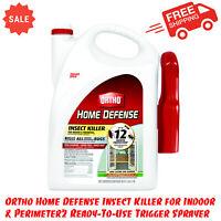 Ortho Home Defense Insect Killer For Indoor & Perimeter2 Trigger Sprayer, 128 oz