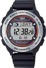 SOLARMATE watch CITIZEN Q & Q Chronograph Solar Digital Radio (Solar Mate) MHS7
