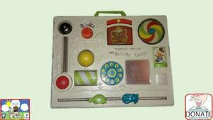 Vintage Fisher Price Activity Centre Baby Cot Toy (Proceeds go to Dementia UK)