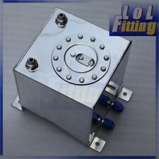UK Non Sensor 20L /5 Gallon Mirror polished Aluminum Fuel Cell Tank & Foam Layer