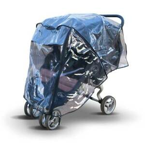 Raincover for Bugaboo Donkey Duo2 Double, Made in The UK from Supersoft PVC