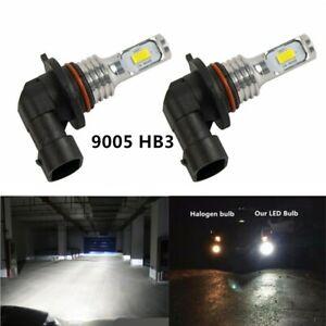 2X HB3 9005 12V 100W Xenon White 6000K Light Car Headlight Lamp Globes Bulb LED