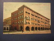 Old Vintage 1912 - MT. CLEMENS - Michigan - POSTCARD - HOTEL MEDEA
