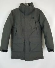 The North Face Gray Dryvent 550 Down Parka Coat Boys L