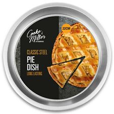 ROUND DEEP BAKING TIN Pie Sponge Cake Pastry Bakeware Kitchen Oven Dish Pan Tray